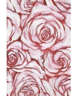 Marmont Hill Rose Outline Canvas Wall Art