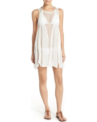 82bf8325ce Great Deal on Women's Elan Crochet Inset Cover-Up Dress, Size Small ...