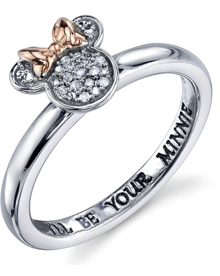 Minnie Mouse Diamond Ring for Women Official shopDisney