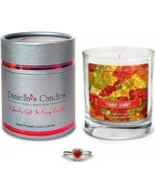 Daniella's Candles Classic Collection Yummy Gummy Phthalate Free Fragrance Scented Jar Candle CC100121-