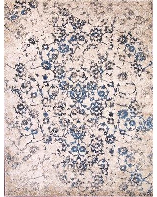 Alcott Hill Dailey Ivory Area Rug W001328972 Rug Size: Rectangle 5' x 8'