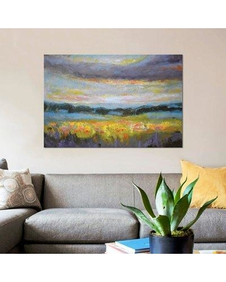 """East Urban Home 'Late Afternoon Light' Print on Canvas ESUI1482 Size: 26"""" H x 40"""" W x 1.5"""" D"""