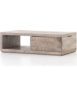 Shop Deals For Dupree Acacia Wood Storage Coffee Table