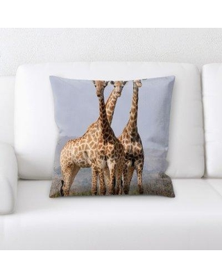 East Urban Home South Africa Throw Pillow W000600562
