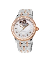Frederique Constant Women's FC-310WHF2PD2B3 'World Heart Federation' Diamond Two-Tone Stainless Steel Watch