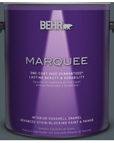 BEHR MARQUEE 1 gal. #PPU25-21 City Rain Eggshell Enamel Interior Paint and Primer in One