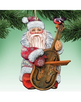 Amazing Deals On Santa Ropy Poly Holiday Shaped Ornament The Holiday Aisle