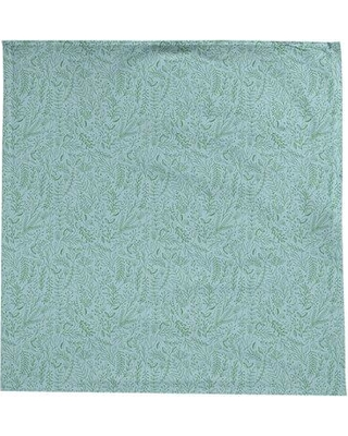 Ebern Designs Leffel Ditsy Floral Pattern Tablecloth W001565020 Color: Light Blue/Green