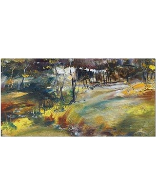 "East Urban Home Contemporary 'Village After Storm' Oil Painting Print on Wrapped Canvas ETUC0017 Size: 16"" H x 32"" W x 1"" D"