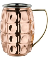 """Old Dutch 2-Ply Solid Copper / Stainless Steel """"Grenada"""" 24 Oz Moscow Mule Mug 2P401"""