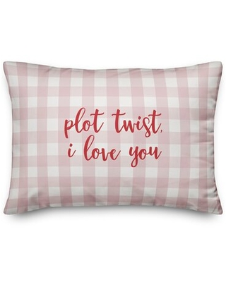 The Lyell Collection Plot Twist I Love You Throw Pillow