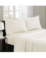 Charlton Home Gearheart 3M Microcell Sheet Set CHLH5539 Size: California King, Color: Ivory
