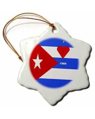 New Deal On The Holiday Aisle I Love Cuba Holiday Shaped Ornament Ceramic Porcelain Size 3 H X 3 W Wayfair 705cc684c2db4b96acc0cc9675d77979