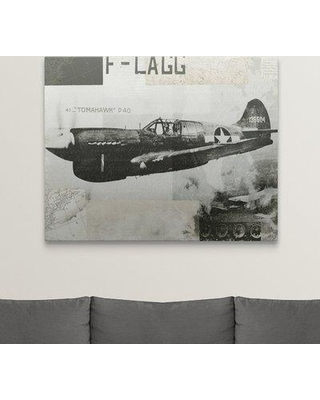 "Great Big Canvas 'Wings Collage II' Graphic Art Print 2174986_1 Size: 38"" H x 48"" W x 1.5"" D Format: Canvas"