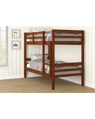 Amazing Deal On Goddard Ranch Twin Over Twin Bunk Bed Harriet Bee
