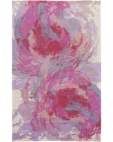 Latitude Run Donie Hot Pink Area Rug LTRN2966 Rug Size: Rectangle 2' x 3'
