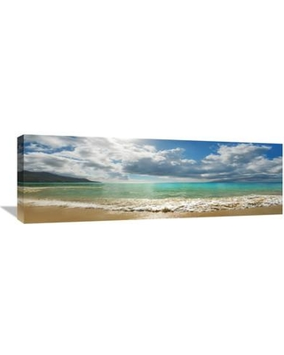 Global Gallery 'Baie Beau Vallon Mahe Seychelles' by Frank Krahmer Photographic Print on Wrapped Canvas GCS-463686-1236-142