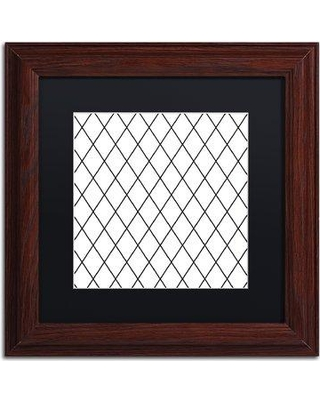 "Trademark Fine Art 'Group 04 B' by Color Bakery Framed Graphic Art ALI4968-W1 Matte Color: Black Size: 16"" H x 16"" W x 0.5"" D"