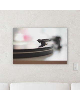 "East Urban Home 'Blury Style' Photographic Print on Wrapped Canvas BI069130 Size: 20"" H x 30"" W x 2"" D"