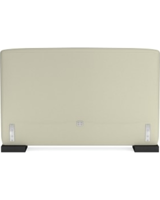 Robertson Headboard Only, Queen, Faux Suede, Stone