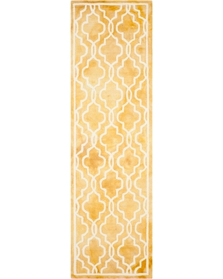 Beaufort Accent Rug - Gold / Ivory (2'3 X 8') - Safavieh