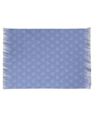 East Urban Home Zig Zag Blue Area Rug W000371345 Non-Skid Pad Included: No