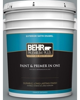 New Savings On Behr Ultra 1 Gal N450 4 Moonquake Satin Enamel Exterior Paint And Primer In One