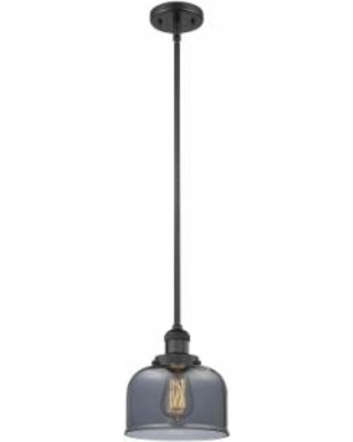Innovations Lighting Bruno Marashlian Large Bell 8 Inch Mini Pendant - 201S-BK-G73