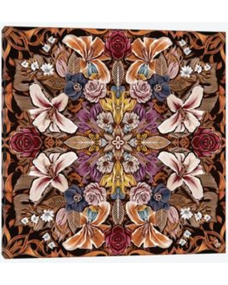 """East Urban Home Floral I Graphic Art on Wrapped Canvas USSC7819 Size: 26"""" H x 26"""" W x 0.75"""" D"""