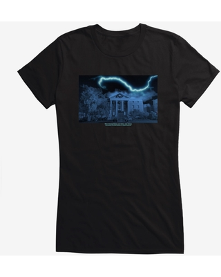 Back To The Future Clock Tower Girls T-Shirt