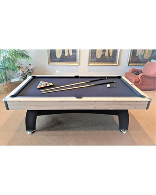 Modern Beechwood 7' Pool Table AirZone Play