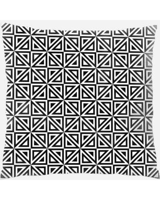 East Urban Home Triangle Throw Pillow W000325280 Location: Indoor