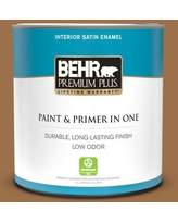 Spectacular Sales For Behr Premium Plus 1 Qt Ppu4 17 Olympic Bronze Eggshell Enamel Low Odor Interior Paint And Primer In One