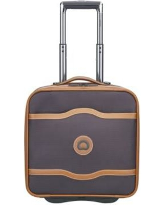 Delsey Chocolate Chatelet 2-Wheel Under Seater Luggage