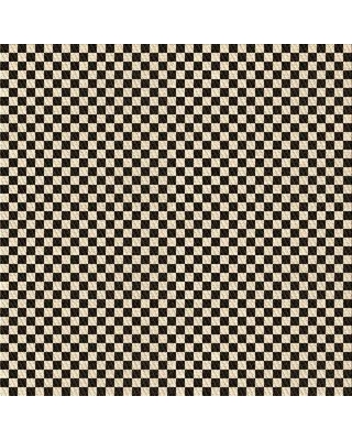 East Urban Home Duley Checkered Wool Brown Area Rug W002561640 Rug Size: Square 5'