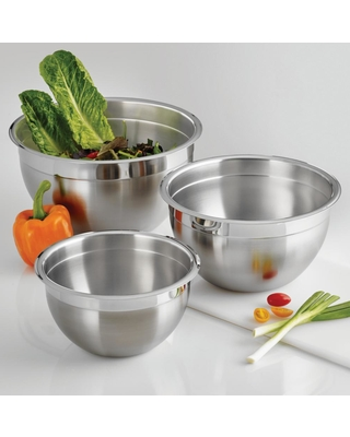 Tramontina Gourmet 3 Qt. Stainless Steel Mixing Bowl, Silver