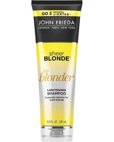 John Frieda Sheer Blonde Go Blonder Lightening Shampoo - 8.3oz.