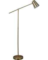 Cantilever Floor Lamp (Includes Cfl bulb) Brass - Threshold