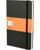 Moleskine Lined Journal Large - Black Hardcover