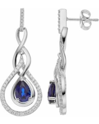 Special Prices on Sterling Silver Lab-Created Sapphire