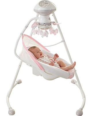 Fisher Price Fisher Price Deluxe Cradle N Swing Surreal Serenity Amazon Exclusive From Amazon Parenting Com Shop