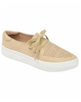 Journee Collection Women's Shantel Sneaker - Taupe
