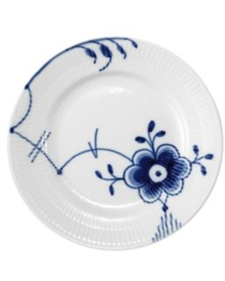 Royal Copenhagen Fluted Mega Bread and Butter Plate #6 in Blue