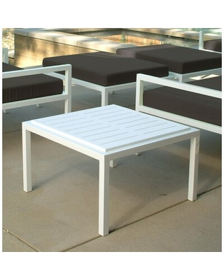 Big Deal On Talt Side Table Modern Outdoor Finish Stainless Steel Table Top Color Black Polyboard