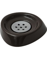 Evideco Bathroom Soap Dish 64181 Color: Brown