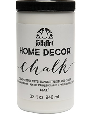 New Savings On Folkart 25643 Chalk Finish Paint 32 Ounce Cottage White