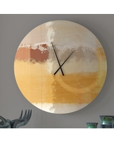 Shop Deals On Sought After Unadulterated Abstract Wall Clock Ebern Designs Size Medium