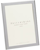 """Modern Picture Frame, 5 x 7"""", Silver-Plate"""