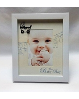 Winston Porter Cashwell It's a Boy Picture Frame WNSP1393 Color: White/Black
