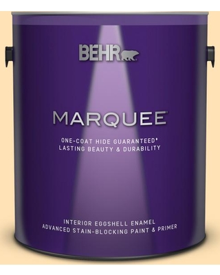 BEHR MARQUEE 1 gal. #P250-2 Golden Nectar Eggshell Enamel Interior Paint and Primer in One